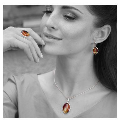 bijoux en ambre pour femme