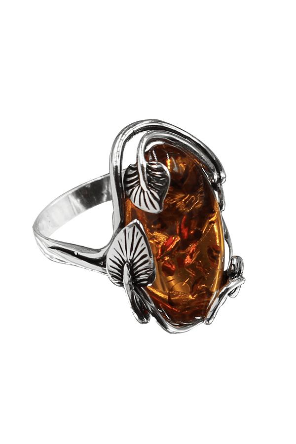 grosse bague en ambre