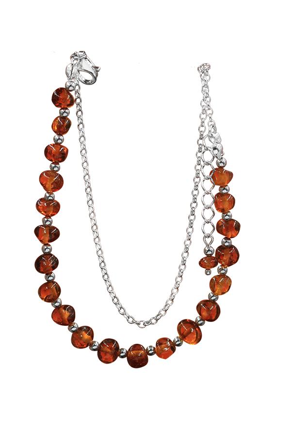 Bracelet ambre perle